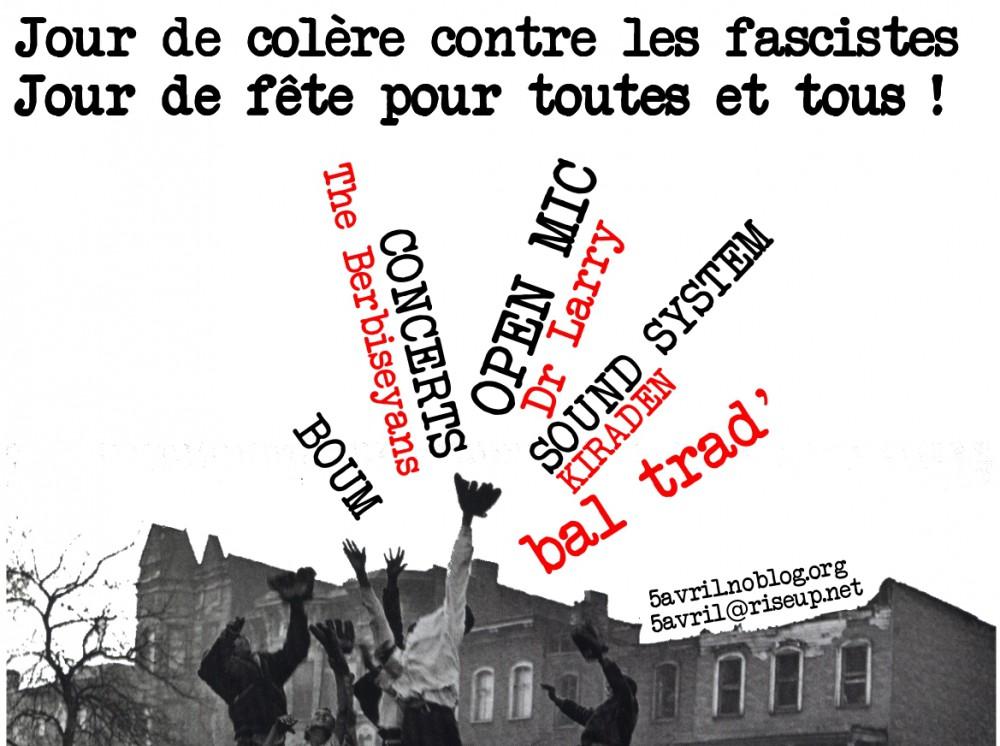 Jour de colère contre les fascistes